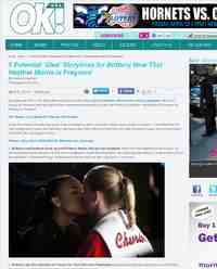 Potential Glee Storylines for Brittany Now That: OK! Magazine